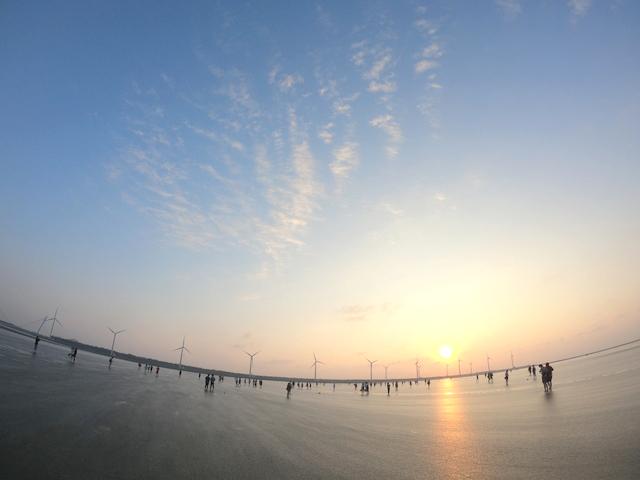 台湾のウユニ塩湖